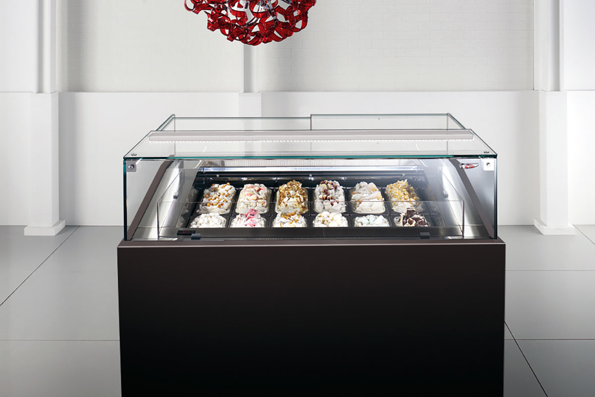 6040 Display Case for ice cream and gelato