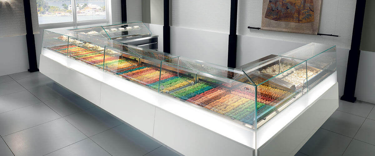 Ciam Jewelry Pastry and Gelato Display Case