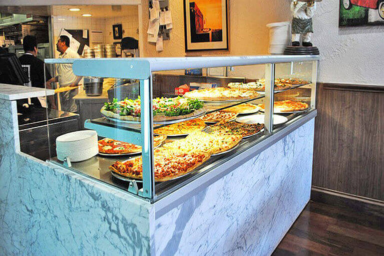 Dry Heated Displays & Pizza Showcases