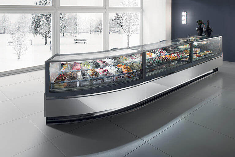 Gelato & Ice Cream Display Case