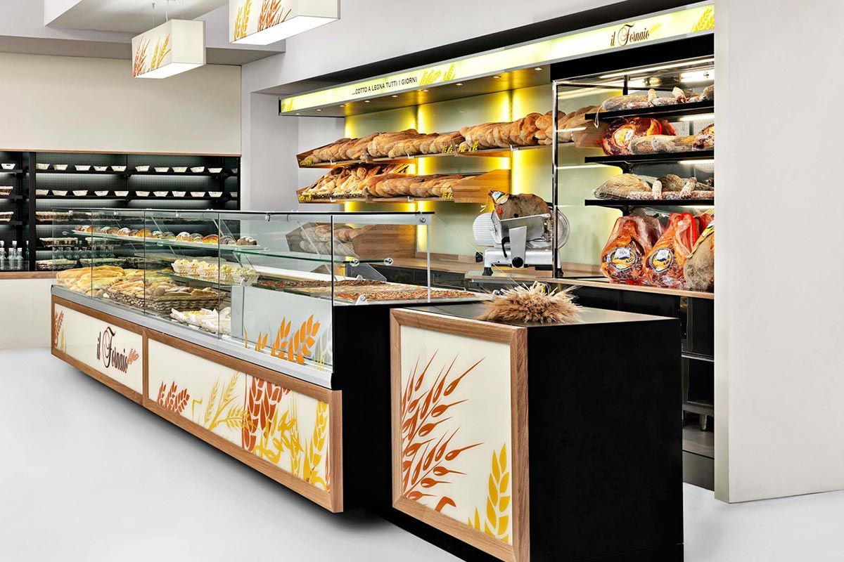 Neutral & Bread Display Cases