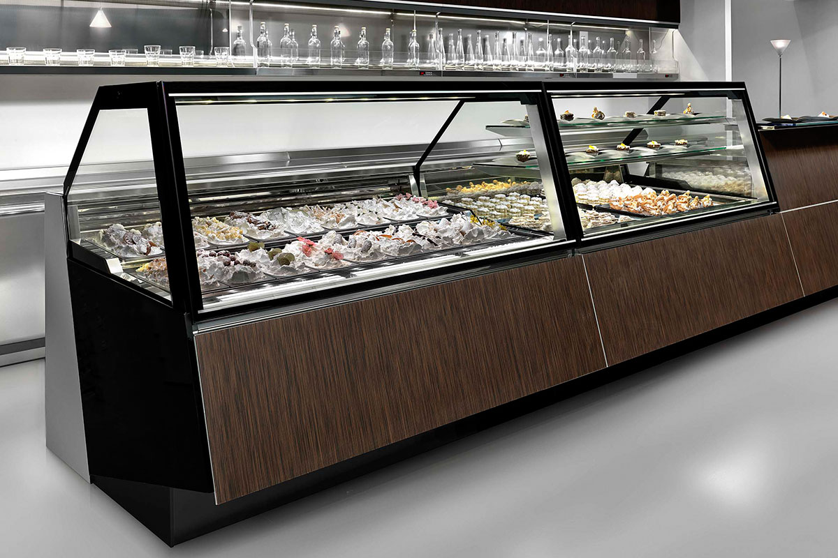 Gelato & Ice Cream Displays Cases & Cabinets