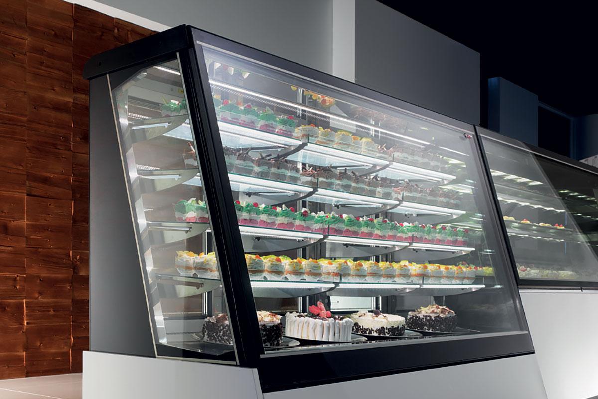 Mya Display Case For Gelato Ice Cream Pastry Deli Or