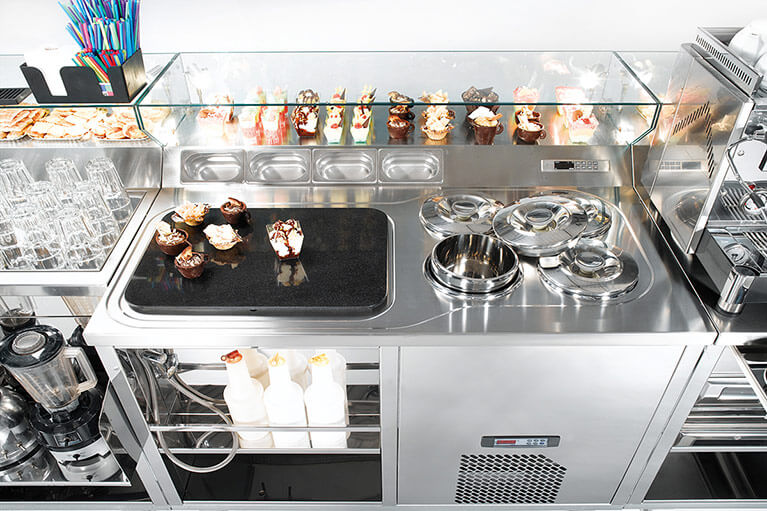 Pozzetti Dipping Cabinets - Gelato / Ice Cream Display Case