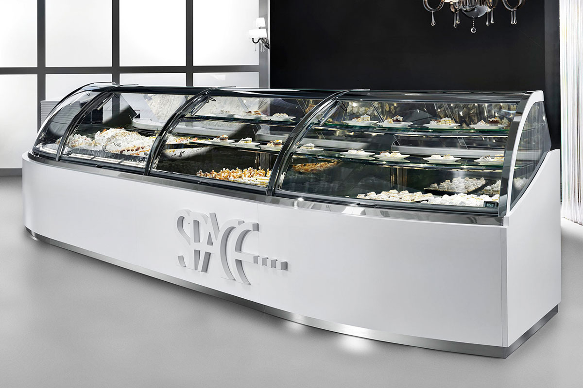 Space Pastry Display Case