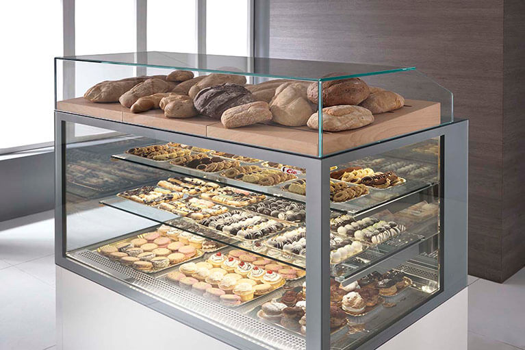 Tortuga Pastry Display Case