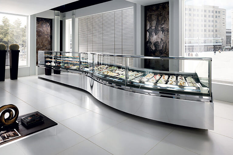 Vertigo - Ice Cream and Gelato Display Case