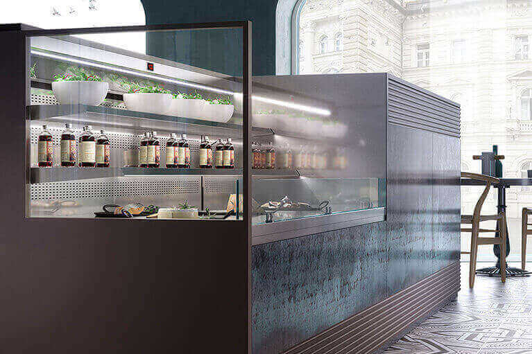 Food Service Display Cases Gelato Pastry Deli