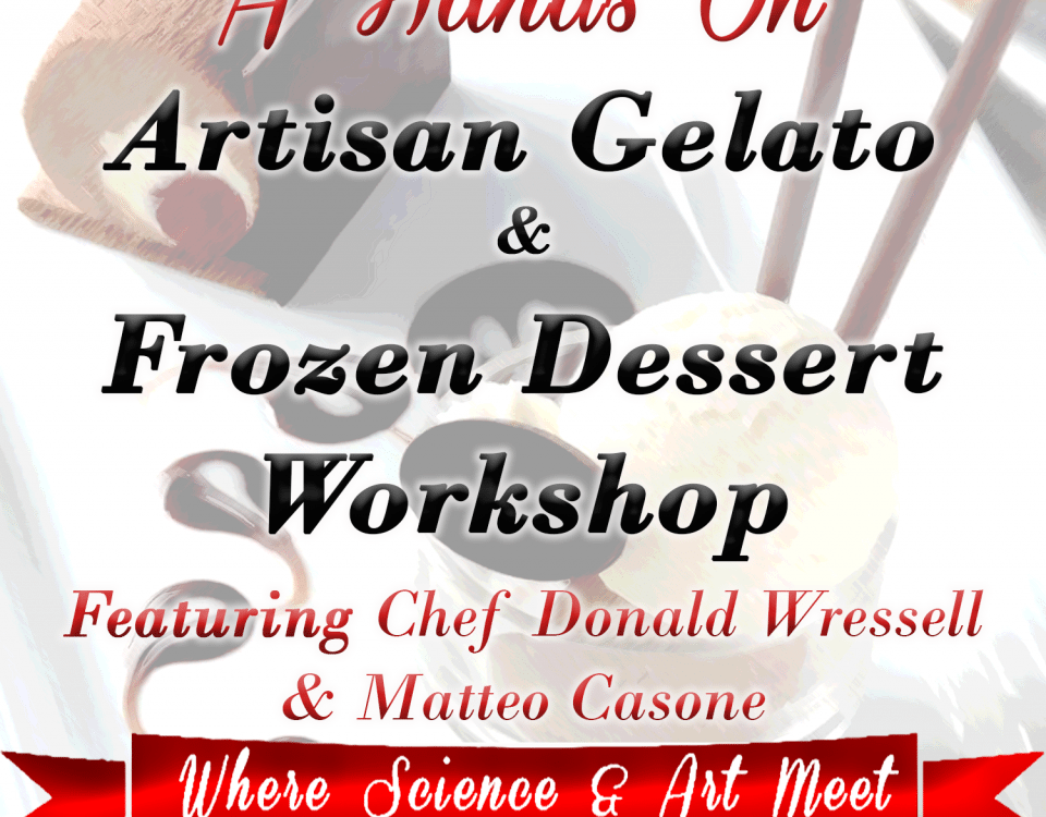 Guittard Gelato Workshop by Advanced Gourmet