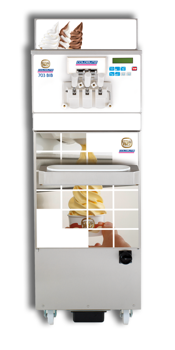 703 Bib Soft-Serve Ice Cream / Frozen Yogurt Machine