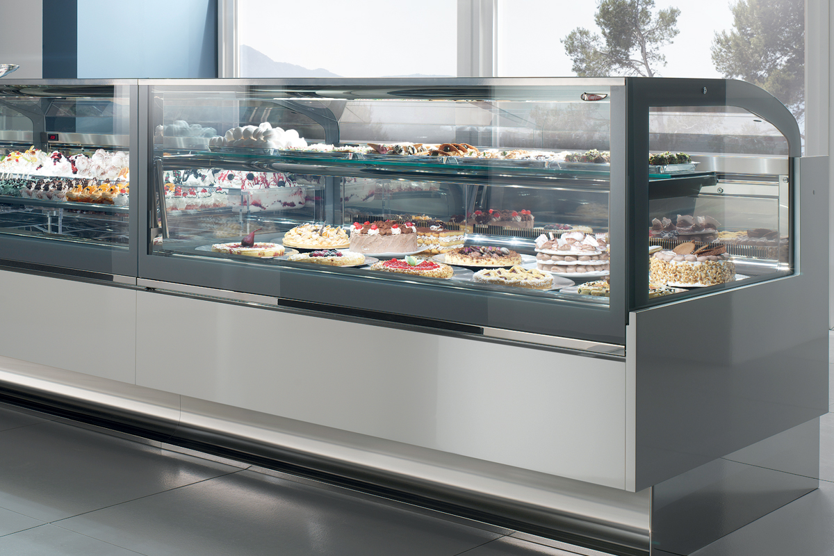 Refrigerated Pastry Display Cases For Deli Sushi Meat