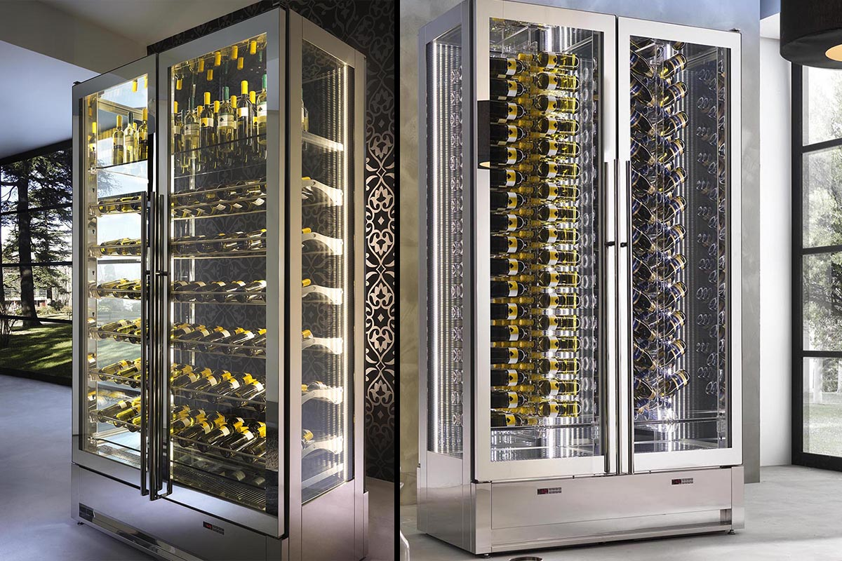 Brilliant Wine Display Cases