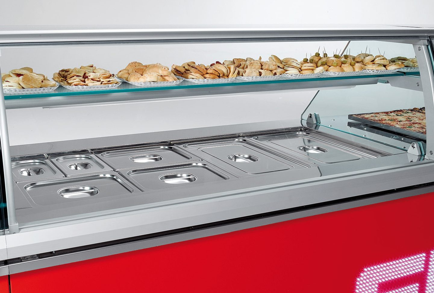 Bain Marie Display Cases