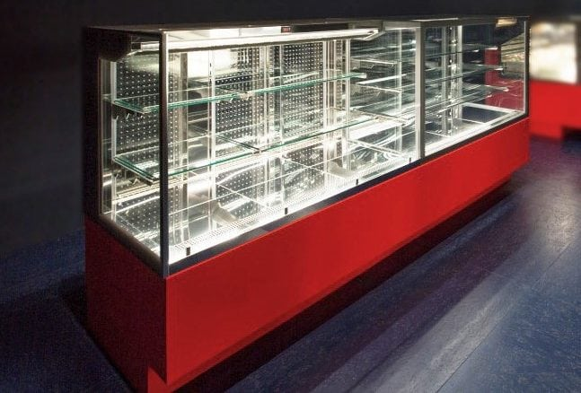 Grab And Go Self Service Display Case And Merchandiser