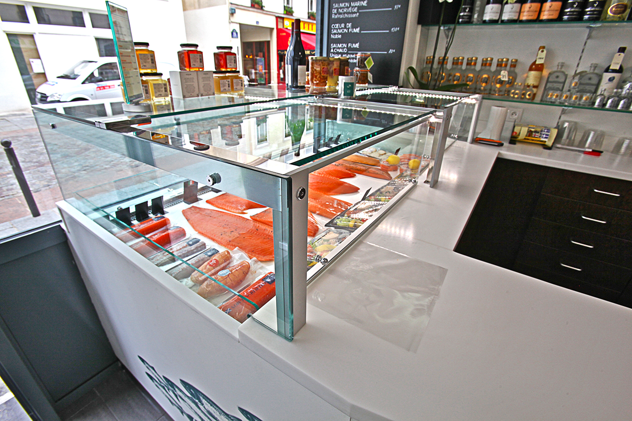 Seafood and Fish - Ciam Display Case
