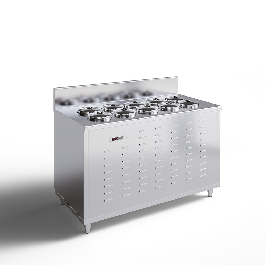 Pozzetti Dipping Cabinets - Gelato / Ice Cream Display Case